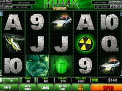 The Incredible Hulk 50 Lines slotgames77.com Playtech 3/5