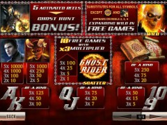 Ghost Rider slotgames77.com Playtech 2/5