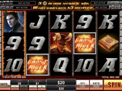 Ghost Rider slotgames77.com Playtech 5/5