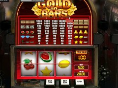 Gold in Bars slotgames77.com GamesOS 3/5