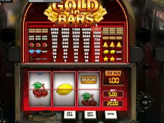 Gold in Bars slotgames77.com GamesOS 5/5