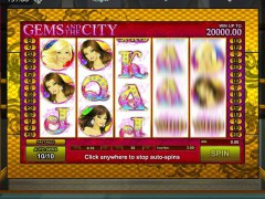 Gems and the City slotgames77.com GamesOS 2/5