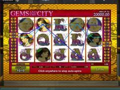 Gems and the City slotgames77.com GamesOS 3/5