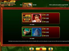 Bruce Lee Dragon's Tale slotgames77.com William Hill Interactive 3/5