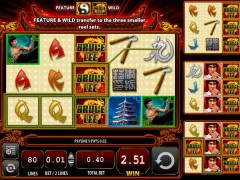 Bruce Lee Dragon's Tale slotgames77.com William Hill Interactive 5/5