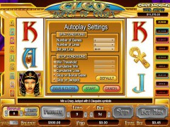 Cleo Queen of Egypt slotgames77.com CryptoLogic 2/5