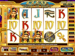Cleo Queen of Egypt slotgames77.com CryptoLogic 5/5