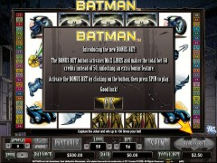 Batman slotgames77.com CryptoLogic 2/5