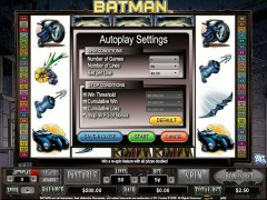 Batman slotgames77.com CryptoLogic 3/5