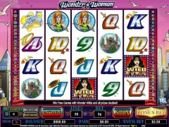 Wonder Woman slotgames77.com CryptoLogic 1/5