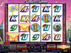 Wonder Woman slotgames77.com CryptoLogic 4/5