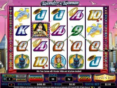 Wonder Woman slotgames77.com CryptoLogic 5/5