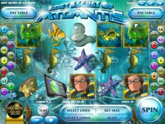 Lost Secret of Atlantis slotgames77.com Rival 1/5