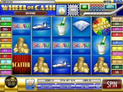 Wheel of Cash slotgames77.com Rival 1/5