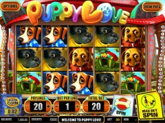 Puppy Love slotgames77.com Betsoft 1/5