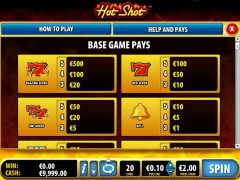 Hot Shot slotgames77.com Bally 2/5