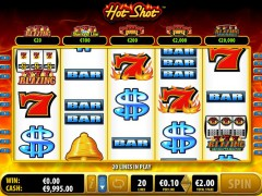 Hot Shot slotgames77.com Bally 3/5