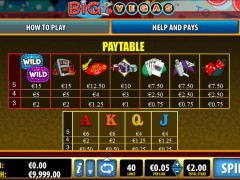 Big Vegas slotgames77.com Bally 2/5