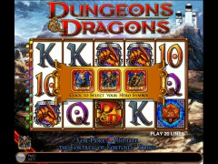 Dungeons and Dragons slotgames77.com IGT Interactive 2/5