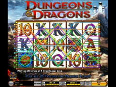 Dungeons and Dragons slotgames77.com IGT Interactive 4/5