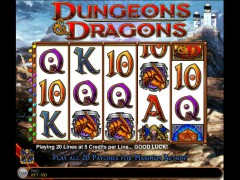 Dungeons and Dragons slotgames77.com IGT Interactive 5/5