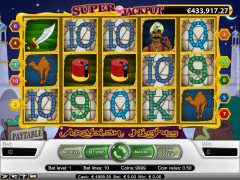 Arabian Nights slotgames77.com NetEnt 1/5