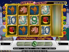 Arabian Nights slotgames77.com NetEnt 3/5