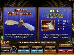 Great Griffin slotgames77.com Quickfire 2/5