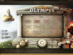 The Legend Of Olympus slotgames77.com Quickfire 3/5