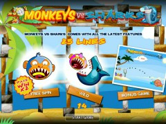 Monkeys VS Sharks slotgames77.com World Match 1/5