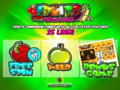 Fruits Dimension slotgames77.com World Match 1/5
