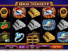 High Society slotgames77.com Microgaming 1/5
