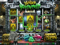 Madder Scientist slotgames77.com Betsoft 4/5