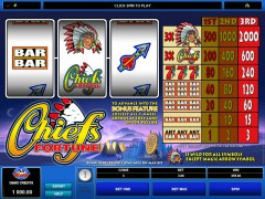 Chief's Fortune slotgames77.com Microgaming 1/5