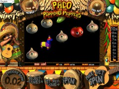 Paco and the Popping Peppers slotgames77.com Betsoft 4/5