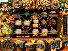Paco and the Popping Peppers slotgames77.com Betsoft 5/5