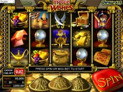 Three Wishes slotgames77.com Betsoft 1/5
