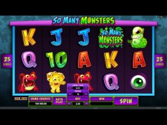 So Many Monsters - Microgaming