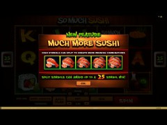 So Much Sushi - Microgaming