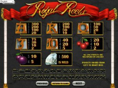 Royal Reels slotgames77.com Betsoft 2/5