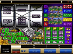 Break Da Bank slotgames77.com Microgaming 1/5