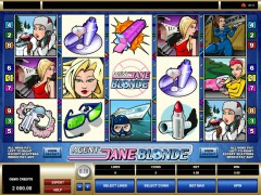 Agent Jane Blonde - Microgaming