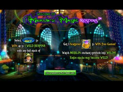 Merlins Magic Respins slotgames77.com NextGen 1/5