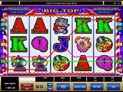 Big top slotgames77.com Microgaming 3/5