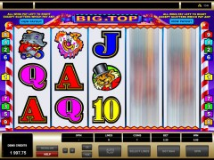 Big top slotgames77.com Microgaming 4/5