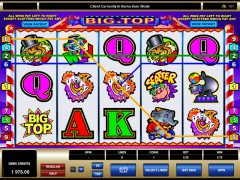 Big top slotgames77.com Microgaming 5/5