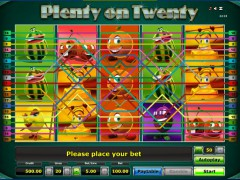 Plenty on twenty slotgames77.com Greentube 3/5