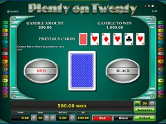 Plenty on twenty slotgames77.com Greentube 5/5