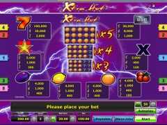 Xtra hot slotgames77.com Greentube 3/5