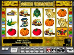 Aztec treasure slotgames77.com Greentube 1/5